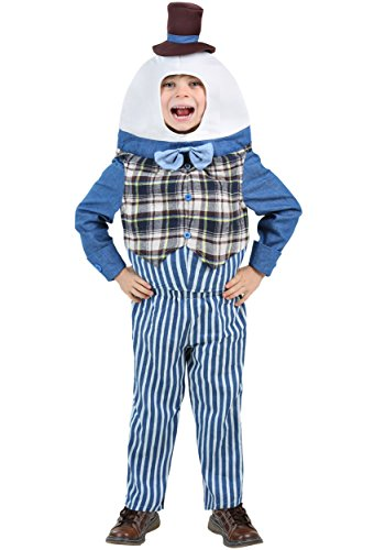 Classic Humpty Dumpty Toddler Costume 12/18 Months - Little Boy Blue Nursery Rhyme Costume