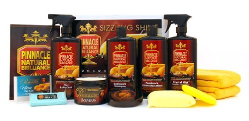 Pinnacle Complete Detailing Wax & Cleaning Kit by Pinnacle Natural Brilliance