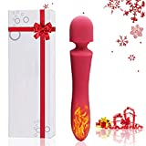Tail Automatic Vibrator Smart Heating 10x Multi Speeds Flutter 8.6 Inch Massager Usb Rechargeable Perfect Halloween Gift(Pink)