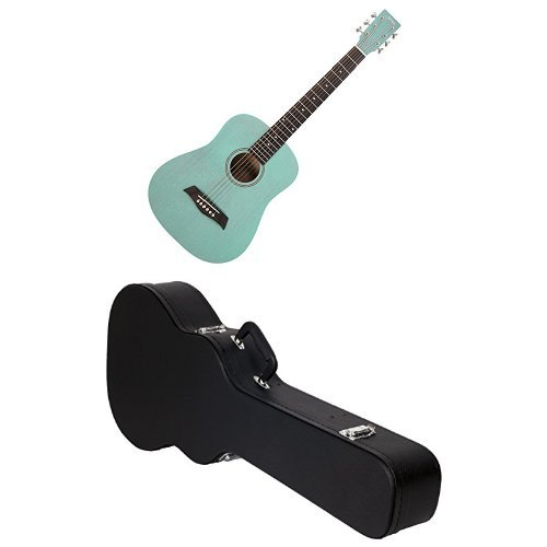 S.Yairi ヤイリ Compact Acoustic Series ミニアコースティックギター YM-02/UBL ライトブルー クリップチューナー付きセット B01N03G6VP ライトブルー 右利き用