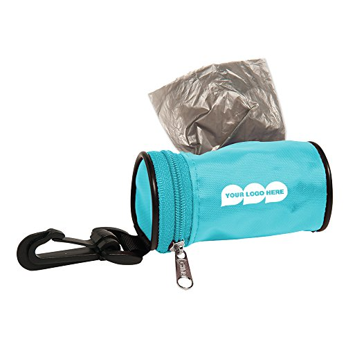 Logo Carabiner (CloseoutPromo Poopy Pet Bag Dispenser - 150 Quantity - 2.60 Each - PROMOTIONAL PRODUCT/BULK with YOUR LOGO/CUSTOMIZED)