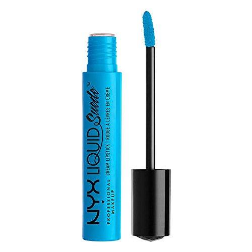 NYX Professional Makeup Liquid Suede Cream Lipstick, Little Denim Dress, 0.13 Fluid Ounce
