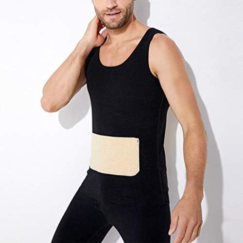 Camiseta Sin Mangas para Hombre Ropa Interior Térmica Adelgazar Capa Base Invierno Cálido XL-4XL (Size : XL): Amazon.es: Hogar