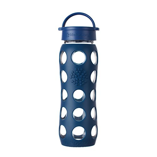Lifefactory 22-Ounce Beverage Bottle, Midnight Blue by Lifefactory