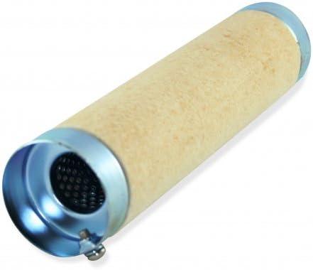 dB-Killer 59mm x 264mm Universal dB-Eater f/ür 2-1//2 Zoll Kr/ümmer Auspuff