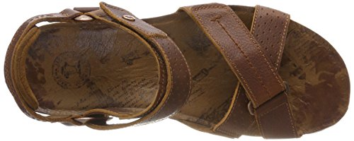 Panama Jack Men's Sambo Explorer Open Toe Sandals Brown (Cuero C1) NQcchv7JFn
