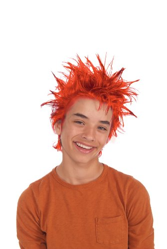 Rubies Fire Red Gel Hair (Spirit Halloween Giggles The Clown)