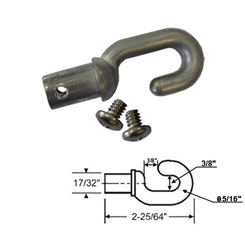 Replacement Hook Drive for Skylight and Awning Poles