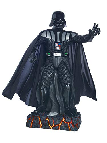 Rubie's Costume 909905 Star Wars Life Size Darth Vader Statue, Multicolor -