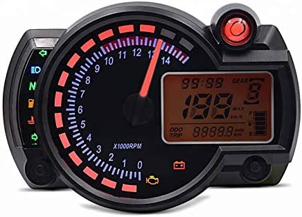 FZ6 Tachimetro Digitale per Yamaha FZ8 S2 Track