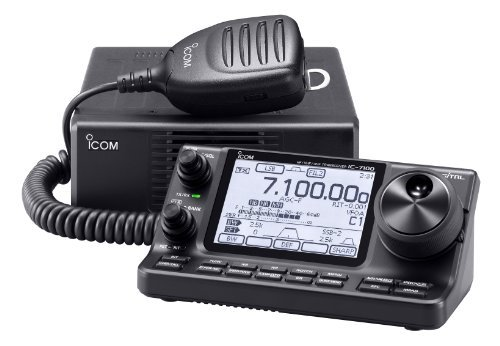 Icom IC-7100 HF/50/144/440 MHz Amateur Radio Mobile Transceiver D-Star Capable w/ Touch Screen - Original Icom USA ()