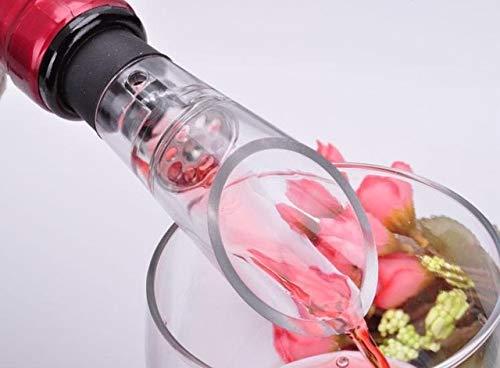 BeesClover 1500pcs/lot White Wine Aerator Pour vinho Spout Bottle Decanter Pourer bar Show