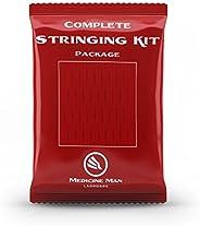 Complete Lacrosse Stringing Mesh Kit