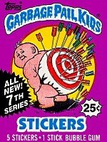Garbage Pail Kids 7th Series Unopened Pack