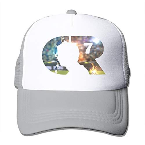 Mr. Legend 7 CR Soccer Genius Trucker Hat Cap Unisex Gray
