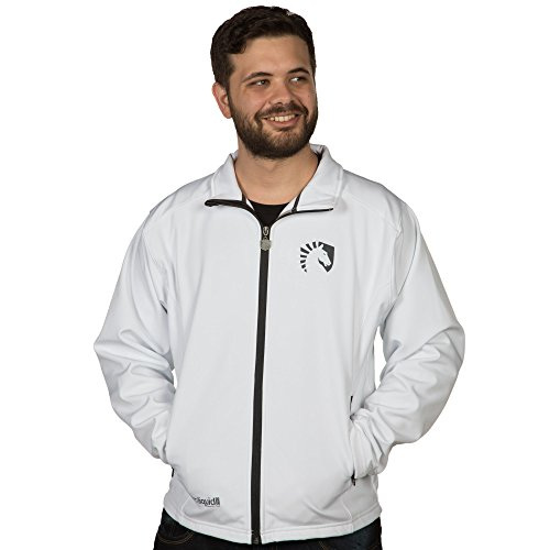 Team Liquid Men's eSports Player Jacket (White, Small)