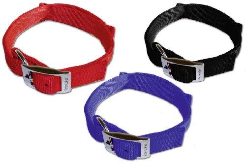 Karlie Dog Control Collar Basic Line 30mm x x 61to 71cm Size XL Blue