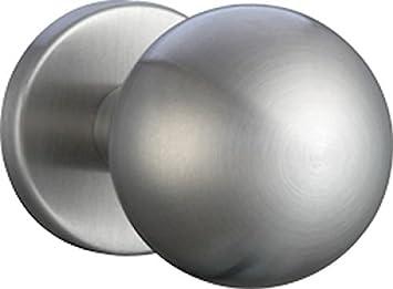 Kugelknopf gerade drehbar auf ovaler Rosette