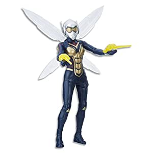 "MARVEL AVENGERS - The Wasp 12"" Wing FX Action Figure - Ant Man & The Wasp - Kids Super Hero Toys - Ages 4+"
