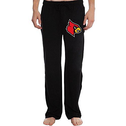 PTR Men's University of Louisville Cardinals Sweatpants Color Black Size -
