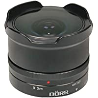 Dorr 9.3mm f8.0 Fisheye Wide Angle Lens Micro Four Thirds Fit [361113]