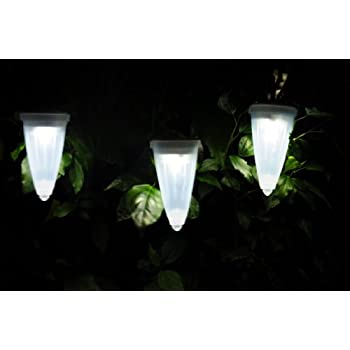 Hanging Solar Garden Light   Mini Cone Shaped Solar Lights, Solar Tree,  Path And
