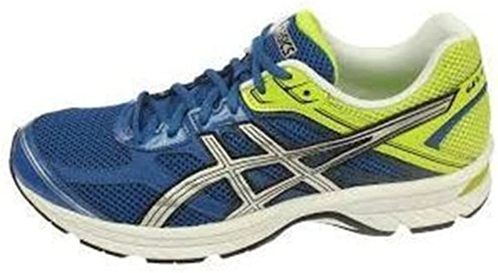 Asics - Zapatillas de Running para Hombre Azul/Plata/Verde, Color, Talla 46.5 EU: Amazon.es: Zapatos y complementos
