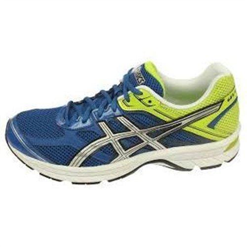 Asics GEL Oberon 8 - Zapatillas de running para hombre, color azul/plata / verde, talla 41.5: Amazon.es: Zapatos y complementos