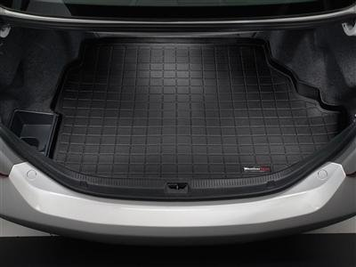 2015 Volvo V60 Cross Country Weathertech Black Cargo Liner [Behind 2nd Row Seating] (Country Weathertech Cargo Liner)