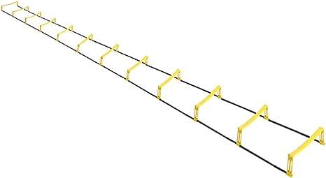 Escalera ágil / Obstáculo ágil Escalera suave Escalera de cuerda ...