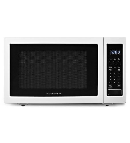 KitchenAid 1.6 Cu. Ft. Full-Size Microwave White KCMS1655BWH