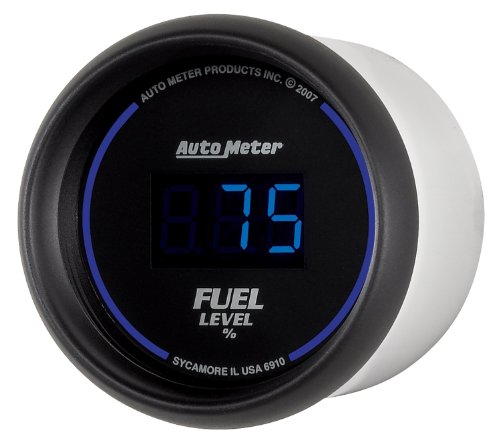 Auto Meter 6910 Cobalt Digital 2-1/16'' 0-280 ohm Digital Fuel Level Programmable Empty - Full Range with Preset by Auto Meter (Image #1)