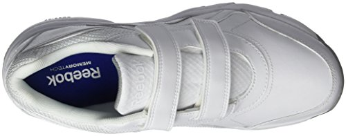 Reebok Work N Cushion KC 2.0 - Zapatillas de deporte, Hombre Blanco / Gris (White / Flat Grey)