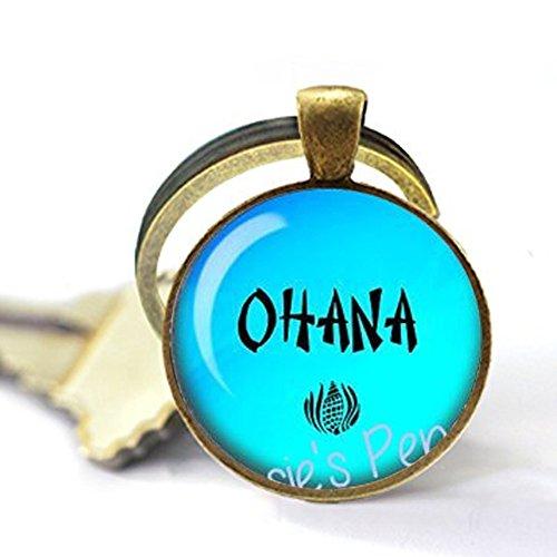 Ohana Keychain - Hawaiian Jewelry - Hawaiian Family - Ohana Jewelry