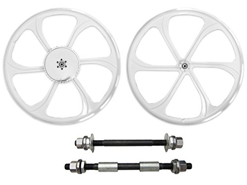 BBR Tuning 26 Inch Heavy Duty Front Mag Wheel for Mountain Bikes, Beach Cruisers, Hybrid Bikes and Motorized Bicycles ()