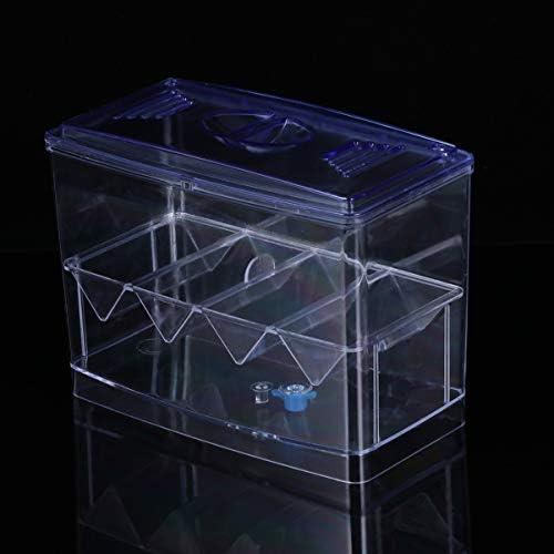 POPETPOP Caja de Cría de Peces de Acuario Incubación de Peces Caseros 10