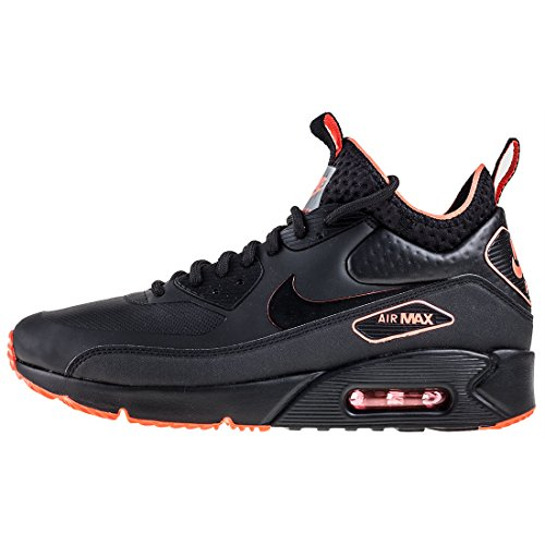 Leder Anthracite SE Max 90 Black Schwarz Synthetik Schwarz Mid Herren Air Sneaker Ultra Winter NIKE wq61Czc