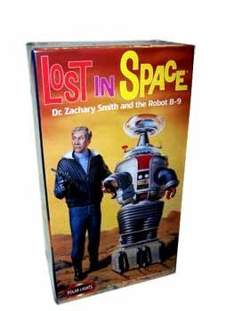 Lost in Space Model Kit with Dr Smith and Robot B9, used for sale  Delivered anywhere in USA