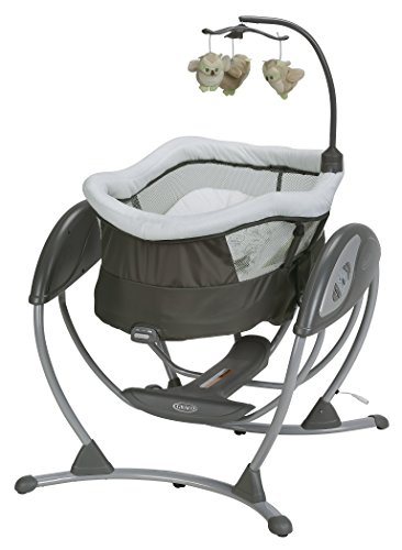 Graco DreamGlider Gliding Swing, Percy (Flat Spot On Back Of Babys Head)