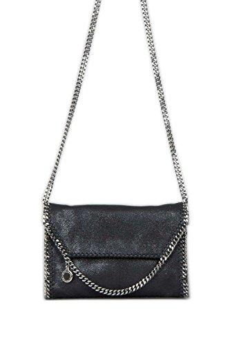 14f417933c74 Stella McCartney Falabella Mini Shoulder Bag in Black Shaggy Deer ...
