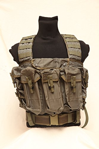 Tactical assault vest chest rig Lazutchik scout Russian army spetsnaz SPOSN SSO Molle by SSO/SPOSN
