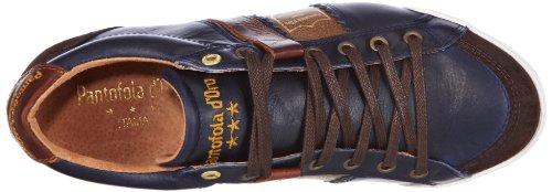 Pantofola d´Oro Pesaro Prep Low - Brogue de cuero hombre azul - Blau (Dress Blues)