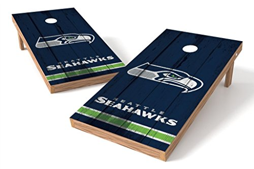 PROLINE NFL Seattle Seahawks 2'x4' Cornhole Board Set - Vintage Design