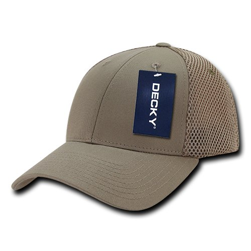 DECKY Air Mesh Flex Baseball Cap, Khaki