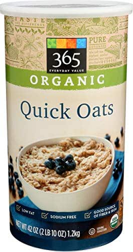 Oatmeal: 365 Everyday Value Organic Quick Oats
