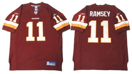 authentic redskins jersey