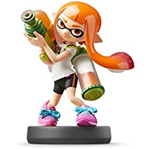 Nintendo Amiibo - Inkling Girl - Super Smash Bros Series
