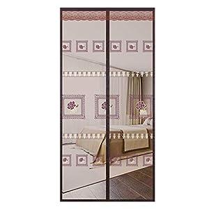 HaGa-Welt.de - Zanzariera magnetica per porta, con pannelli magnetici, per porte fino a MAX, tenda istantanea a frame… 10 spesavip