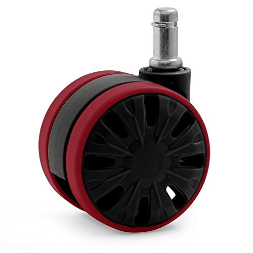 Large Office Wheels Casters Hardwood