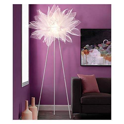 (B.YDCM Floor Lamp - Living Room Floor Lamp Simple Bedroom Model Rotten Princess Room Floor Lamp Studio Girl Room Lamp -547 Floor lamp (Color : 3 Color Light Board))